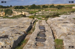 cart ruts malta gozo man made evidence tracks formatiion construction created formed