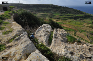 cart ruts off cliffs malta gozo tracks