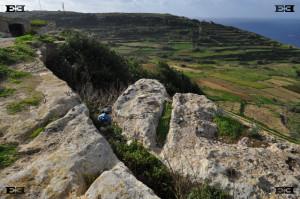 cart ruts off cliffs malta gozo tracks