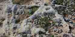 doppel rock dreieck form doppio triangolo roccia forma -cart ruts malta clapham junction, misrah ghar il kbir