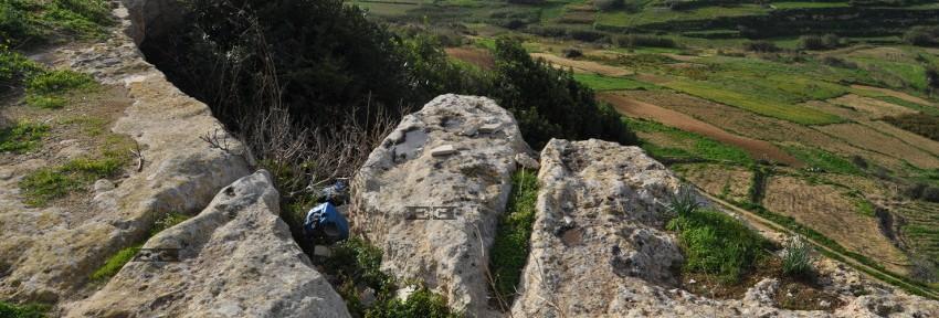 Ghar Zerriegha Malta cart ruts