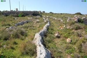 Malta Cart Ruts Cart Tracks mystery - geology