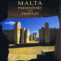 Malta Prehistory and Temples book david h trump cart ruts tracks