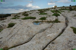 naxxar cart ruts malta maltese tracks