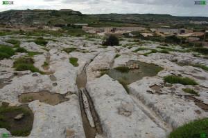 naxxar cart tracks malta mystery slope curve down hill