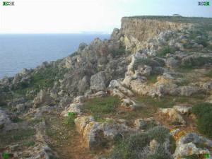 Fomm Ir-Rih bay il-Pellegrin Cart Ruts tracks malta