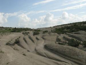 phrygian turkey ancient road vehicle tracks cart ruts Dr Alexander Koltypin