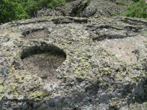 phrygian turkey geology road tracks ancient limestone ruts carts