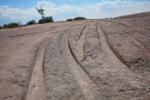 phrygian turkey cart ruts tracks roads paths limestone ancient roads