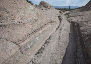 phrygian turkey cart ruts tracks proof manmade evidence