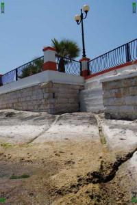 st georges bay cart ruts tracks malta
