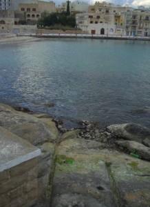 st georges bay malta underwater cart ruts tracks saint sea floor bed