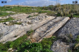 zerriegha cart tracks steps malta Mtahleb Rabat Rabbat mysterious puzzling quarry ruts