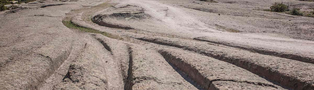 turkey cart tracks Koltypin transport roads ancient ruts malta